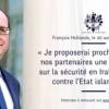 هولاند: سوريا « أمام خيار مر ما بين ديكتاتور ومجموعة إرهابية»