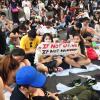 تظاهرات هونغ كونغ وجدت لـ ... تدوم