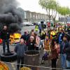 الاحتجاجات معركة بين هولاند الاشتراكي واليسار الفرنسي