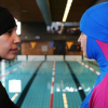 سويسرا: البوركبني في أحواض السباحة