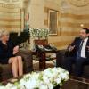 من بيروت مارين لوبن تشيد بـ«سياسة الأسد الواقعية»