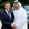 محمد بن زايد في باريس