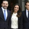 الحريري على درج الإليزيه: من لبنان نحكي بالاستقالة