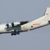 طائرة عسكرية صينية تحلق فوق تايوان