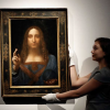 لوحة المسيح لدافينشي (٤٥٠ مليون دولار) في لوفر أبو ظبي