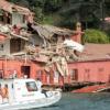 تركيا: سفينة تصطدم بفيلا أثرية على البوسفور