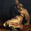 موسكو: قومي مخمور يهشم لوحة «إيفان الرهيب»