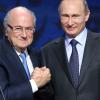 بوتين يدعو بلاتر بحضور مباراتين في موسكو رغم العقوبات