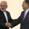 وزير خارجية كوريا الشمالية في طهران