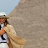 ميلانيا ترامب تزور أهرامات الجيزة في مصر
