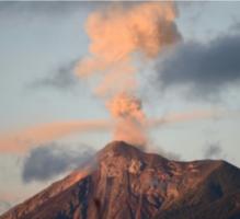 ثورة جديدة لبركان إل فويغو