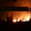 قصف جوي في محيط مطار دمشق