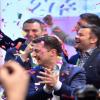 أوكرانيا: الممثل فولوديمير زيلينسكي  يفوز في الانتخابات الرئاسية
