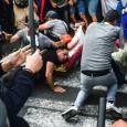 عنف الشرطة في مليونية الجزائر