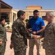 قائد القيادة الأميركية الوسطى «يزور» شمال سوريا