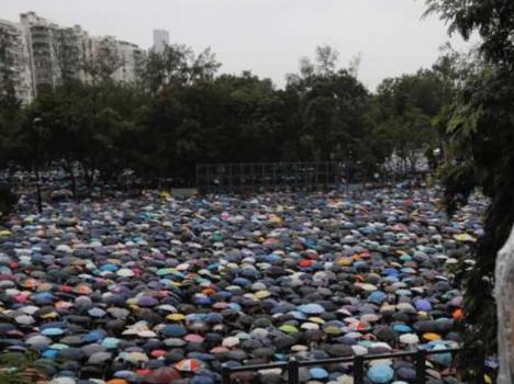 هونغ كونغ: أكثر من مليون متظاهر