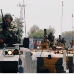 قصف روسي وسوري لرتل عسكري تركي يتوجه إلى خان شيخون