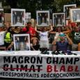 الاحتجاج على سياسة ماكرون ... بالمقلوب
