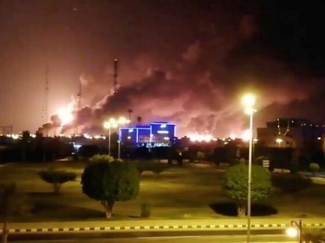 السعودية تتوعد بالرد تتوعد بالرد على الهجوم  الذي طال نفطها