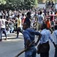 قتلى وجرحى خلال احتجاجات ضد  ابيي أحمد (نوبل للسلام)