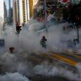 Hong Kong people: Starbucks and Xinhua agency was targeted