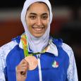 إيران: البطلة الأولمبية تعلن هروبها من
