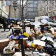 الاضرابات في فرنسا: النفايات تغزو المدن