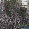 آلاف المغاربة خررجوا تضامنا مع الفلسطينيين ورفضاً لـ«صفقة القرن»