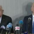 محمود عباس يعانق سجين سابق استباح القدس ورفض كل خطط السلام