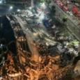 الصين: انهيار فندق يستعمل لعزل المصابين بكورونا
