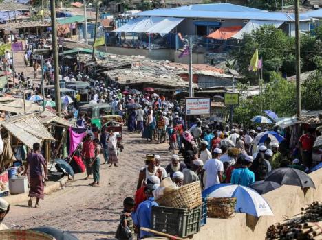 بنغلادش: الحجر الصحّي لـ  15 ألف لاجئ من الروهينغا