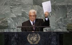 عباس يرفع طلب قبول فلسطين