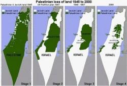تآكل أراضي فلسطين وسط صمت عالمي